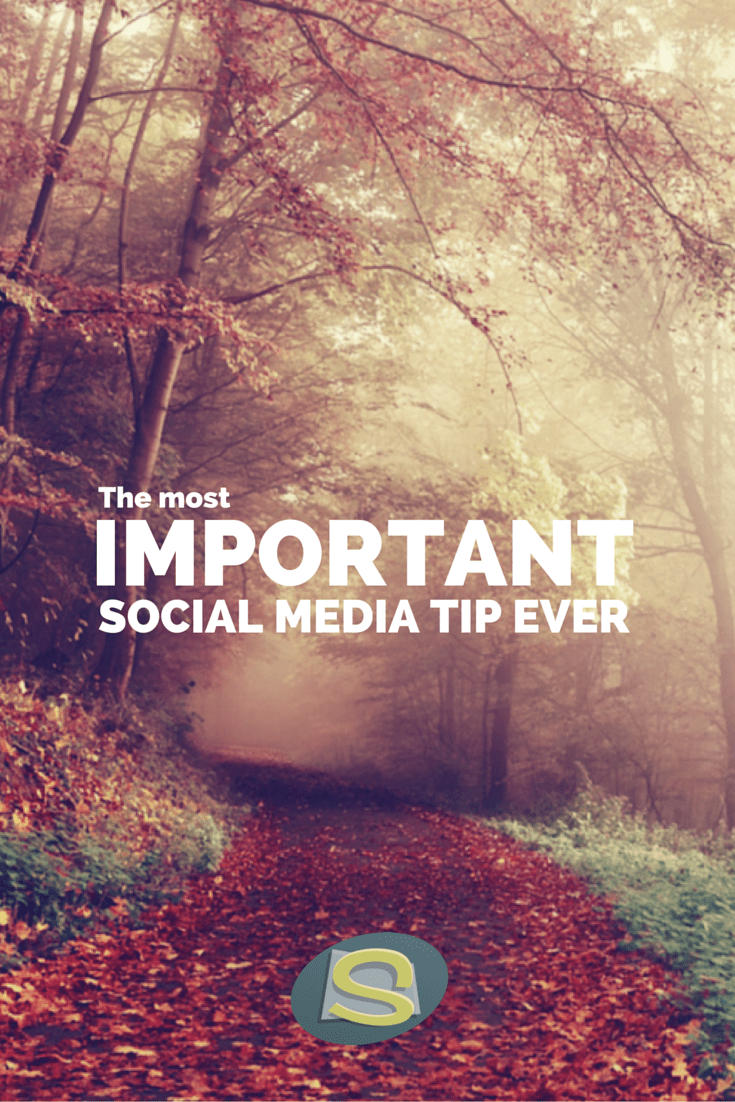 Everything is connected, make sure you are too! Don't forget this important social media tip!
