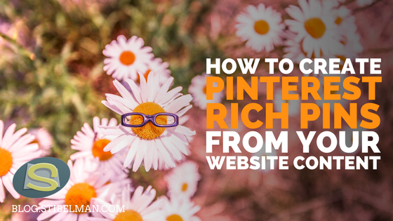 How to create Pinterest Rich Pins from your website content