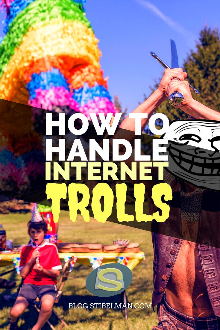How to handle internet Trolls