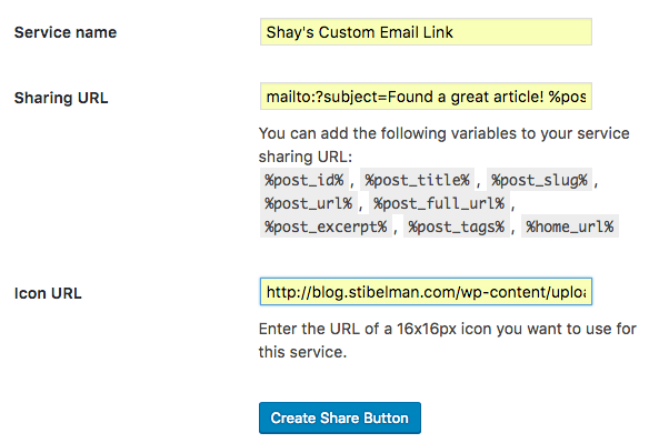 new jetpack sharing service popup