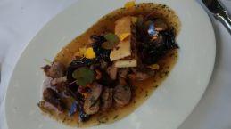 Lammragout mit Pilzen