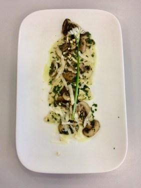 Ravioli mit Bärlauchöl
