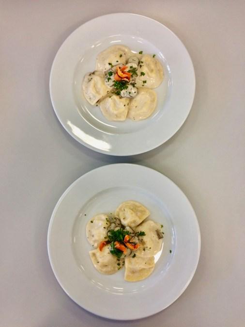 Ravioli mit Karotten-Ricotta-Füllung