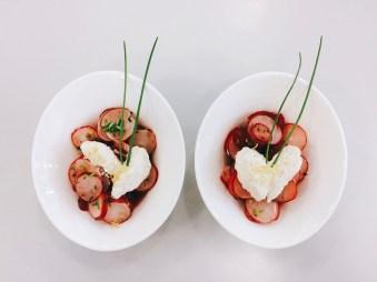Radieschensalat mit Quarkcreme