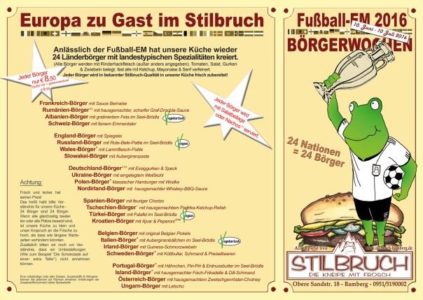 Die Burger-Karte zur EM