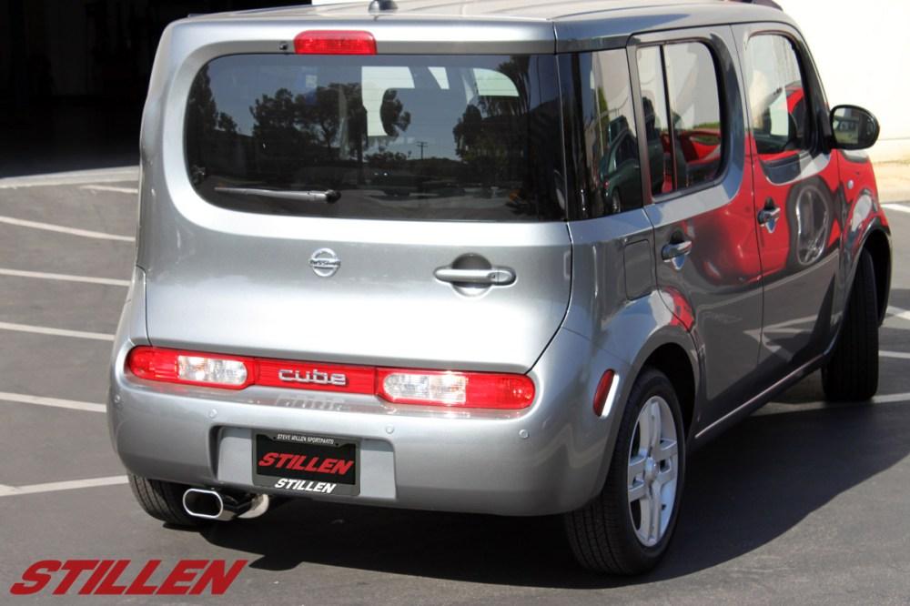 medium resolution of 2009 2010 nissan cube exhaust system stillen