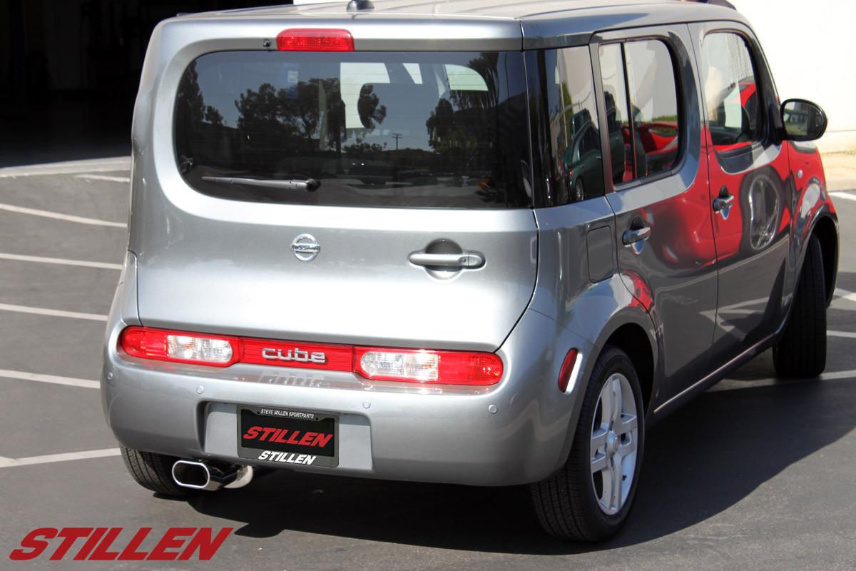 hight resolution of 2009 2010 nissan cube exhaust system stillen