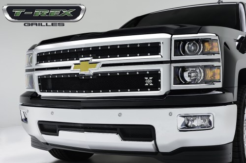 small resolution of t rex 2014 chevy silverado 1500 x metal main grille