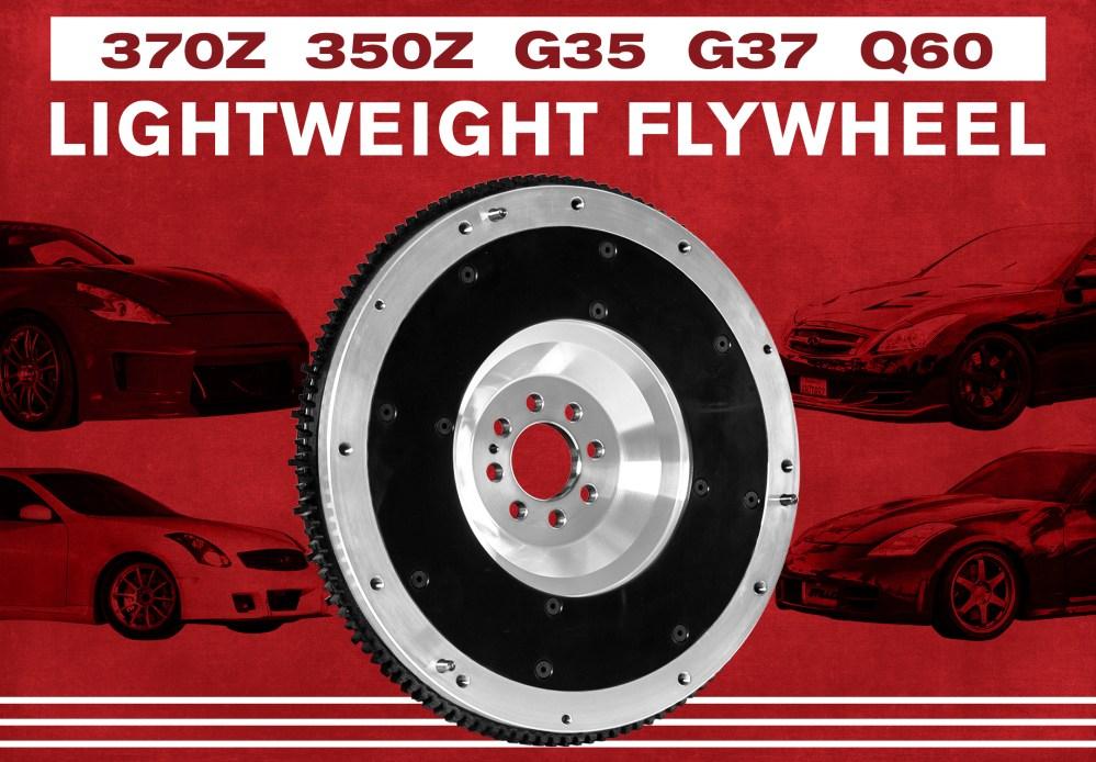 medium resolution of the huge benefit of lightweight flywheels for nissan 350z 370z g35 g37 q60 3 7 z33 z34 stillen garage