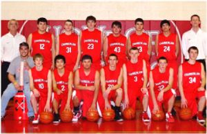 Chamberlain Cubs boys basketball team.