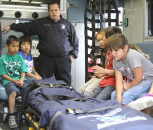 The Lakota children learned about numerous careers during Native American Career Day.