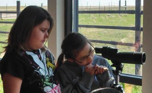 St. Joseph's students visited the Buffalo Interpretive Center on the Lower Brule Indian Reservation.