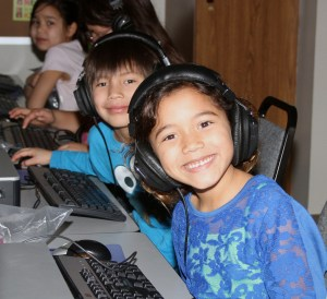 A special computer program helped the Lakota children improve their reading skills.