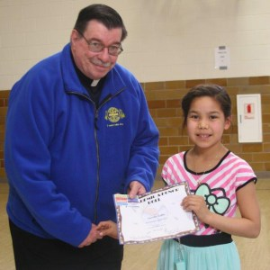 Students are receiving honors for academics and attendance during assemblies this week.