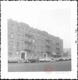 Photo: West side of 4th Avenue between 63rd Street and 64th Street (1959)