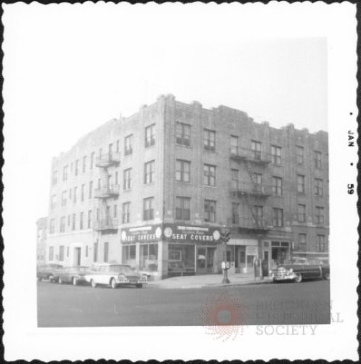 Photo: Northwest corner of 64th Street (left) and 4th Avenue, Brooklyn, L.I.