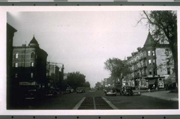 Photo: 49th Street & 4th Avenue - Sunset Park, Brooklyn, NY (1941)