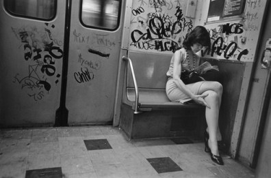 Photo: NYC Subway Train Car Interior