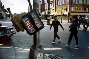 Photo: Broken Pedestrian Crossing Signal
