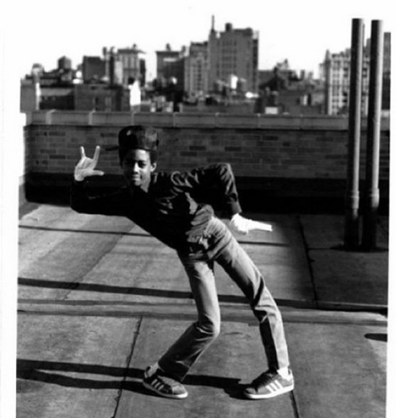 Photo: B-Boy on a Rooftop