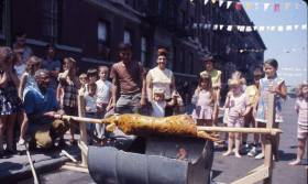 Photo: Block Party on 61st Street Between 4th & 5th Avenues in Brooklyn