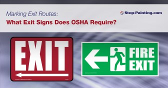 Image result for OSHA exit routes