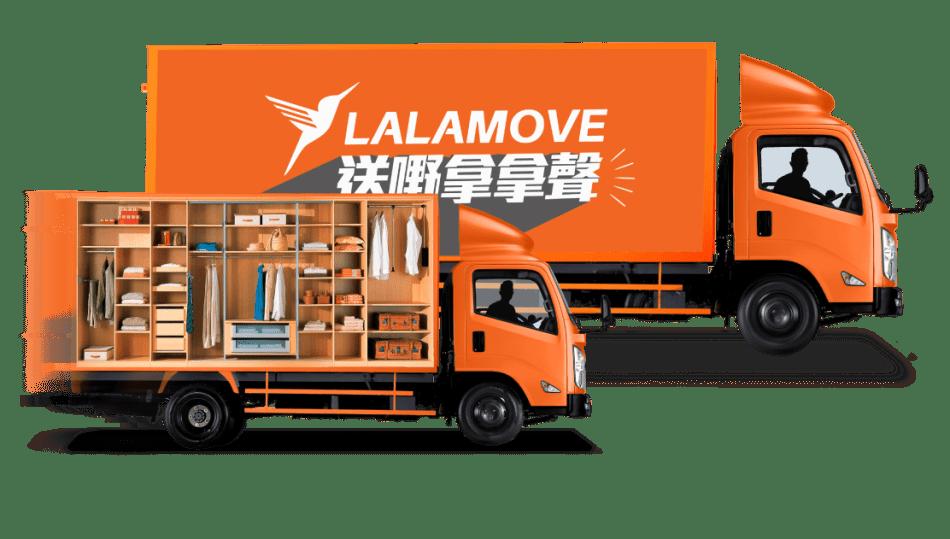 用 lalamove 運輸 入迷你倉 搬屋