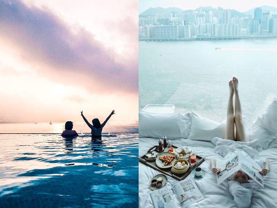 網紅打卡熱點: 酒店 Staycation  其實Staycation並不等於住酒店, 還有很多選擇
