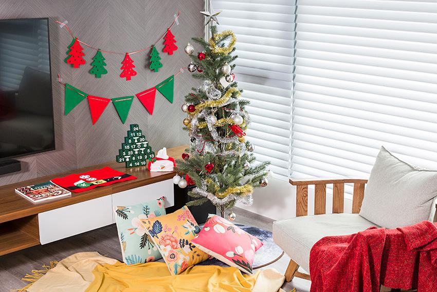 細小家居也能打造 聖誕氣氛