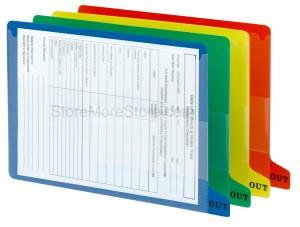organized filing makes efficient