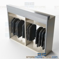 Hanging Garment Cabinets with Roll-Up Locking Doors