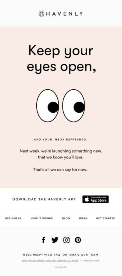 emailer product launch strategy