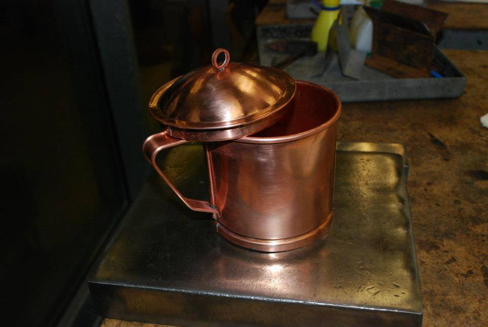 Copper Pitcher by Brice Martin