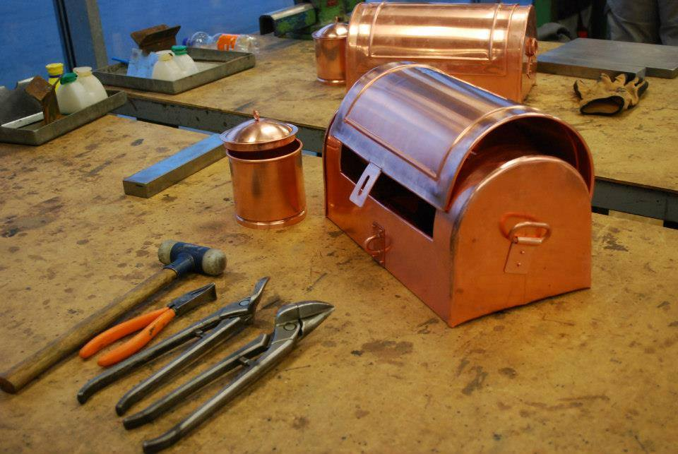 Copper Tool Box by Brice Martin