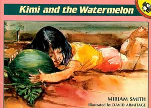 Kimi and the watermelon