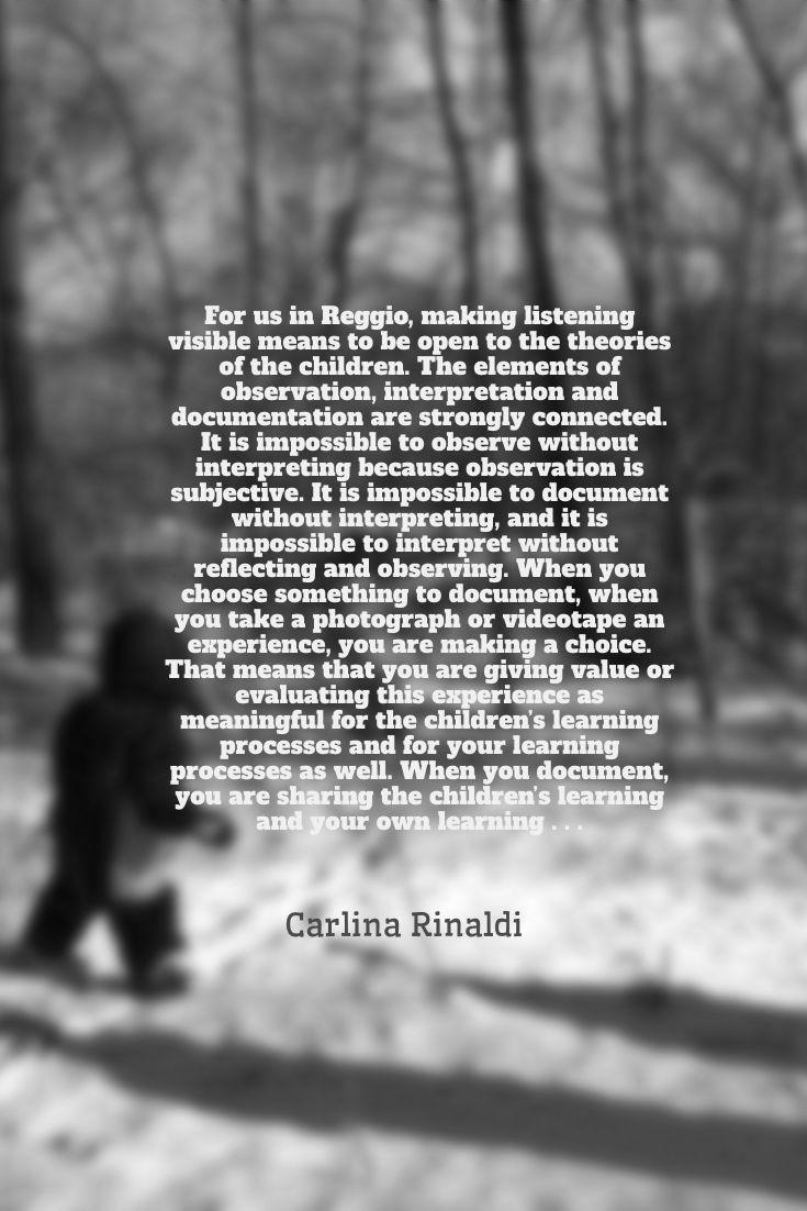 Carlina Rinaldi quote