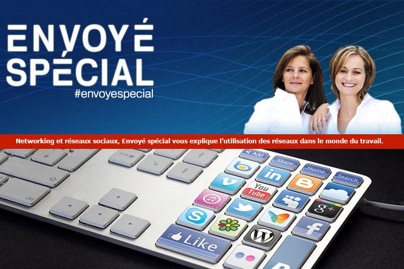 Envoyé spécial nous livre les secrets de l'utilisation des réseaux sociaux dans le monde du travail.