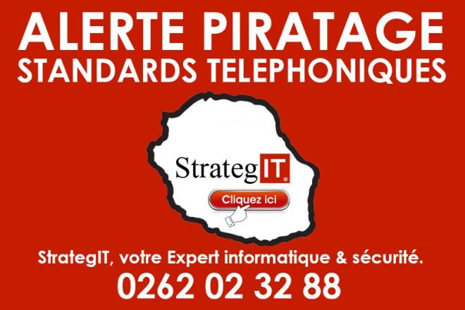 Alerte piratage de standards téléphoniques en cours à la Réunion
