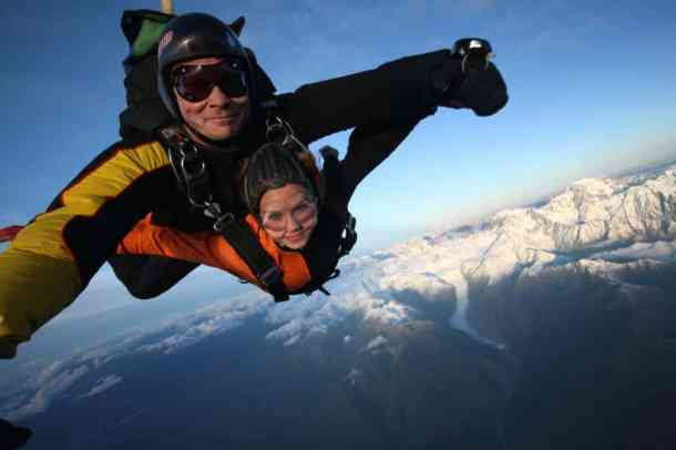 Photo by Hanna Hoechemer. Tandem Skydive in Taupo.