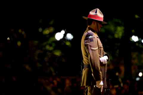 ANZAC Dawn Soldier