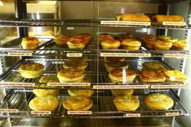 New Zealand pies