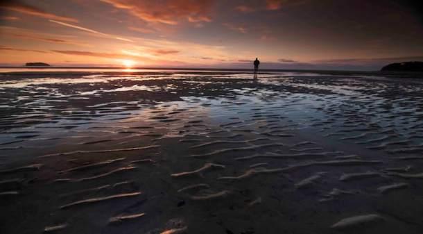 Hoy Water Beach Sunset