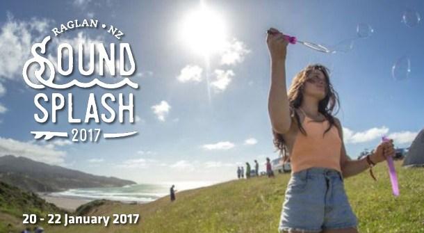 Soundsplash Festival in Raglan with Stray