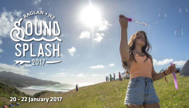 Soundsplash Festival in Raglan with Stray