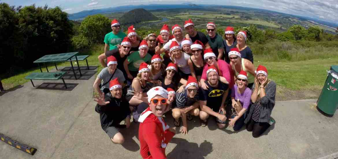 New Zealand Christmas with Stray at Lake Taupo