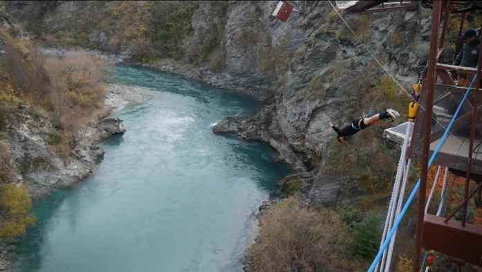 Kawarau Bridge bungy Queenstown
