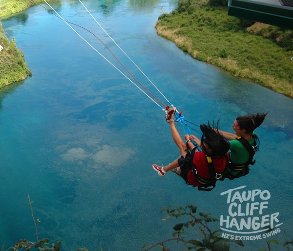 Tandem Cliffhanger Swing with Taupo Bungy & Swing