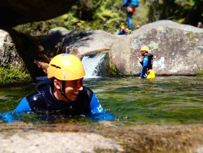 Big smiles after canyoning with Abel Tasman Canyons