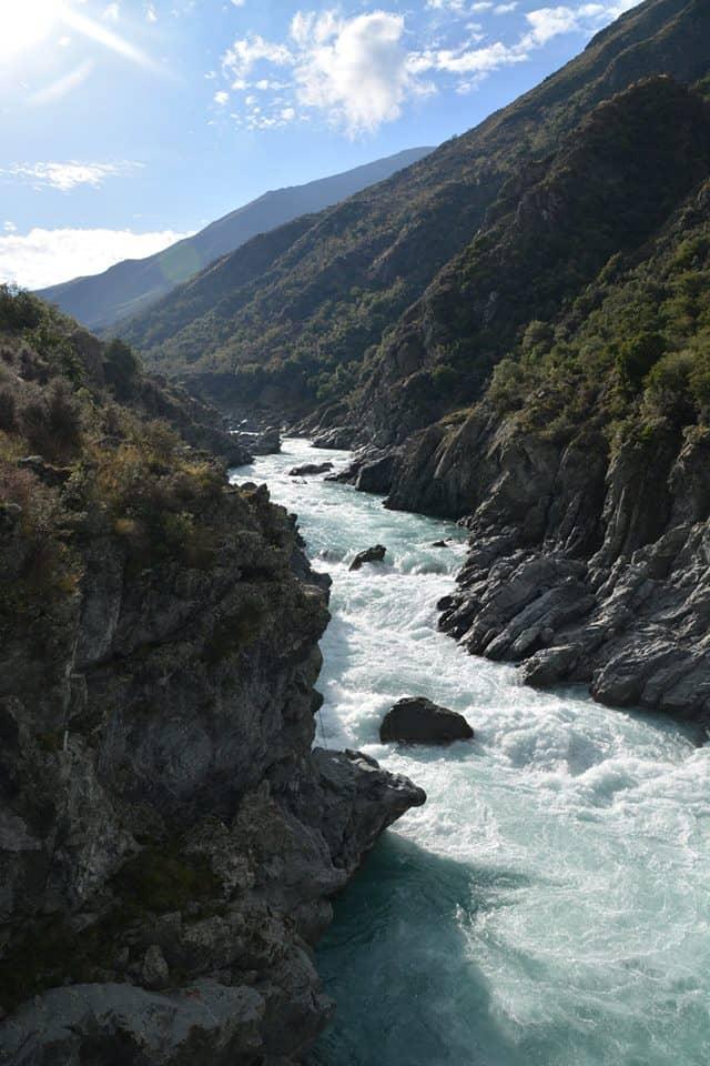 The mighty Rangitata River - Stray New Zealand