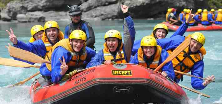 Rangitata Rafts white water rafting - Stray New Zealand